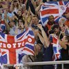Britain dominates Olympic track cycling program