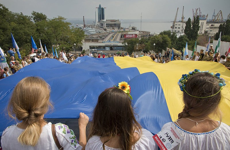 The Story Behind 2 Top Ukrainian Symbols National Flag And Trident