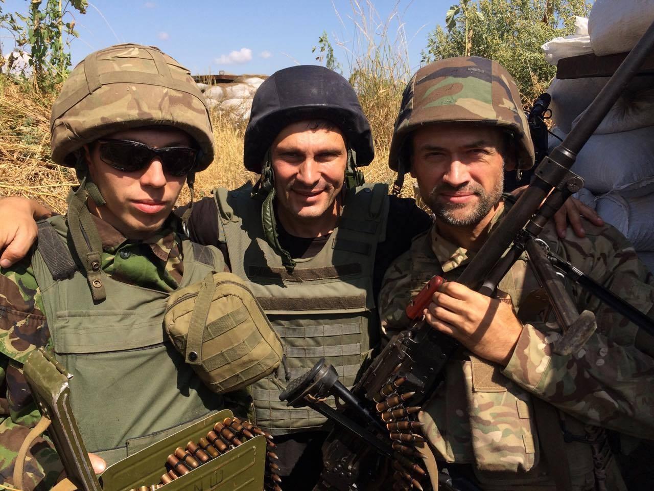 Russian war movie star now fighting for Ukraine - Aug  25