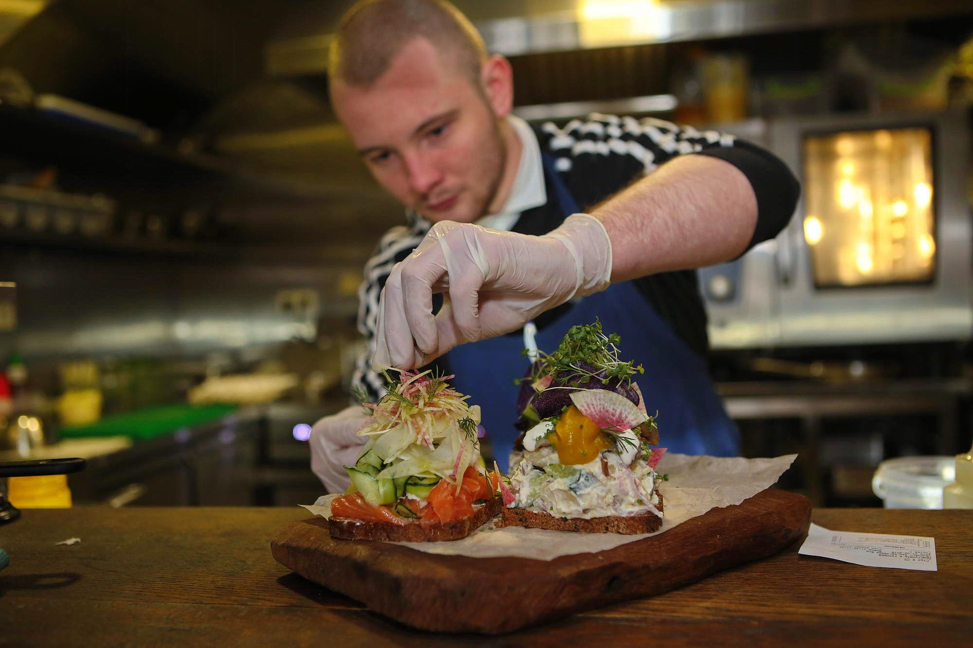 Where to get Danish smørrebrød open sandwiches in Kyiv | KyivPost