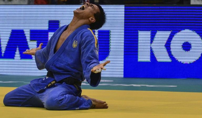 Ukrinform: Ukraine's Zantaraia wins bronze at 2018 World