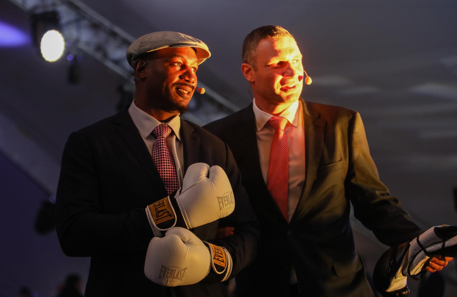 Ukrinform: Vitali Klitschko, Lennox Lewis meet in boxing