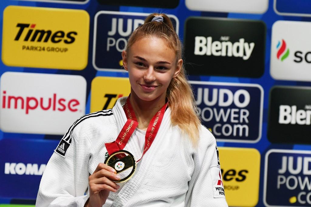 UNIAN: Ukraine's judo teen Daria Bilodid claims second world